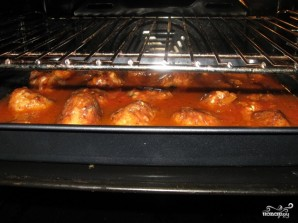Тефтели с рисом в духовке - фото шаг 11