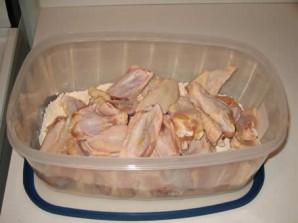 Крылышки в панировке в духовке - фото шаг 2