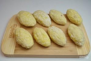 Зразы картофельные с мясом - фото шаг 11
