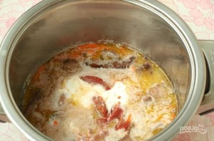 Печень в томатном соусе - фото шаг 4