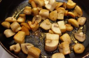 Карп, запеченный с грибами в духовке - фото шаг 3