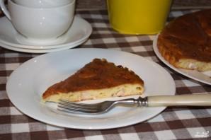 Пирог на сметане с курицей - фото шаг 7
