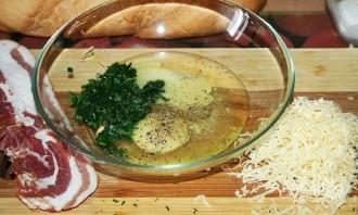 Гренки с сыром и яйцом на сковороде - фото шаг 1