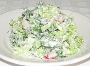 Вегетарианский салат из пекинской капусты - фото шаг 6