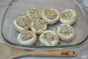 Запеченные грибы с фаршем в духовке - фото шаг 6