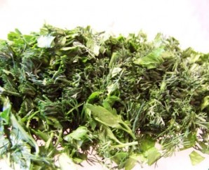 Салат из лесных грибов - фото шаг 3