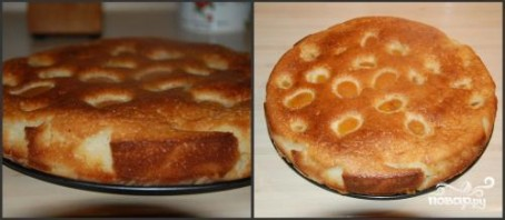 Абрикосовый пирог по-быстрому - фото шаг 4