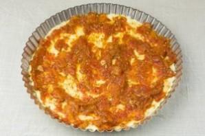 Пицца с овощами - фото шаг 11