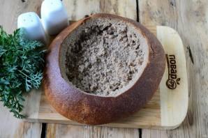 Говядина в хлебной тарелке - фото шаг 9