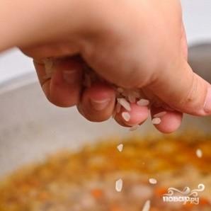 Суп с фрикадельками и помидорами - фото шаг 19