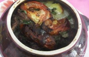 Жаркое в горшочках с мясом - фото шаг 4