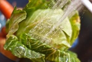 Рагу с картошкой и капустой - фото шаг 1