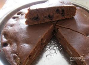 Пирог с бананом и шоколадом - фото шаг 5