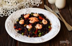Рис с овощами и креветками - фото шаг 7