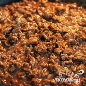 Лепешки с говяжьим фаршем и сыром - фото шаг 2