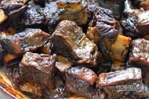 Ребрышки говяжьи на сковороде - фото шаг 5