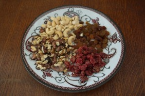 Колбаска из печенья и какао - фото шаг 2