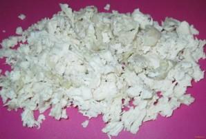 Салат с редькой и курицей - фото шаг 2