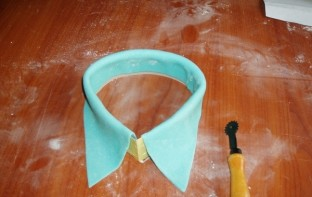 "Торт ""Рубашка с галстуком"" - фото шаг 12"