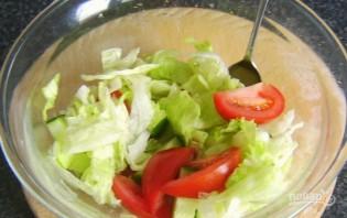 Салат с яйцом и сыром - фото шаг 3