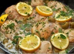 Курица с лимоном и оливками - фото шаг 5
