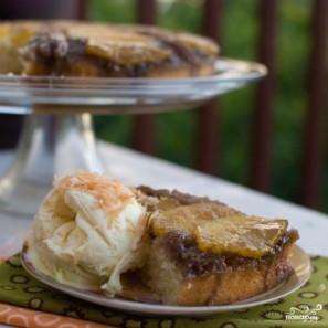 Ананасовый пирог с орехами пекан - фото шаг 15