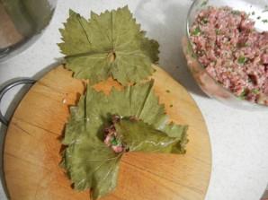 Армянская долма из виноградных листьев  - фото шаг 5