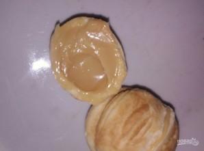 Домашние орешки со сгущенкой - фото шаг 8
