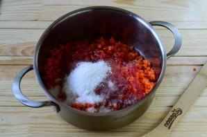 Морковная икра на зиму - фото шаг 5