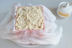 Ванильная пасха с печеньем - фото шаг 6