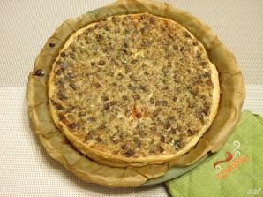 Пирог с гречкой и печенью - фото шаг 9
