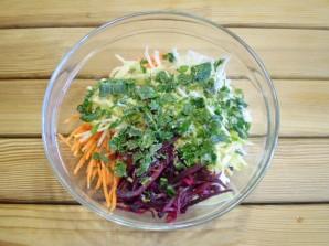 Салат из свеклы для похудения - фото шаг 7