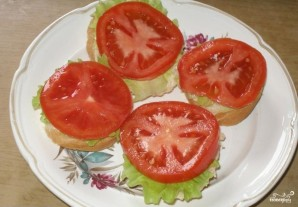 Бутерброды открытые - фото шаг 3
