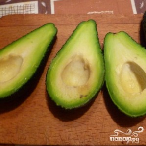 Салат с авокадо и креветками - фото шаг 1