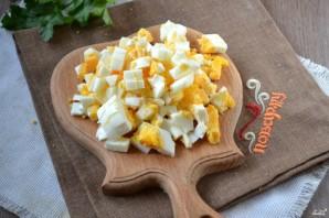 Салат из грудки с сыром - фото шаг 4