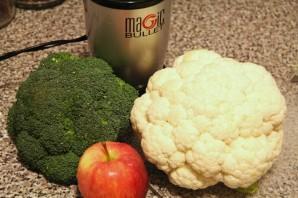 Пюре из брокколи и цветной капусты - фото шаг 1