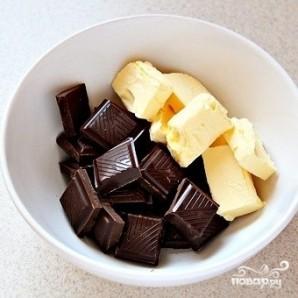 Кексы с жидкой начинкой - фото шаг 4