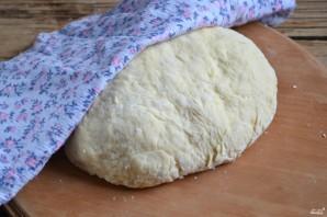 Бездрожжевое тесто для пиццы на молоке - фото шаг 5