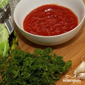 Соус из кетчупа и майонеза - фото шаг 1