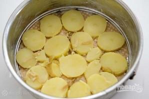 Пирог из картофеля и копченого лосося - фото шаг 3