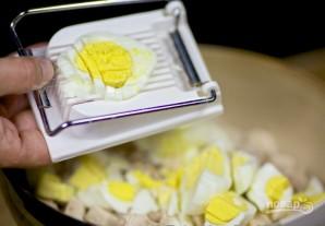 """Салат """"Пикантный"""" с корейской морковкой - фото шаг 3"""