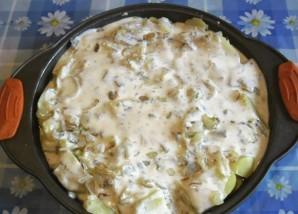 Картошка с кефиром - фото шаг 5