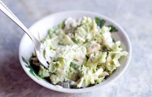 Салат с сыром - фото шаг 6
