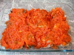 Рыба под маринадом из тушеных овощей - фото шаг 10