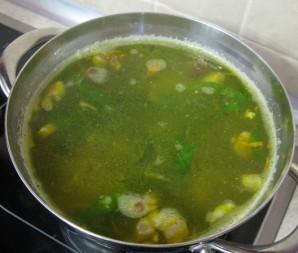 Суп из домашней курицы - фото шаг 8