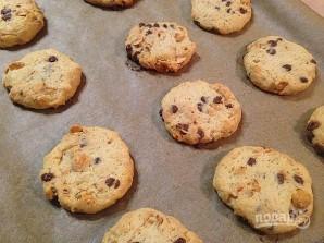 Песочное печенье с фундуком и шоколадом - фото шаг 8