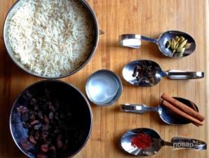 Индийский рис - фото шаг 1
