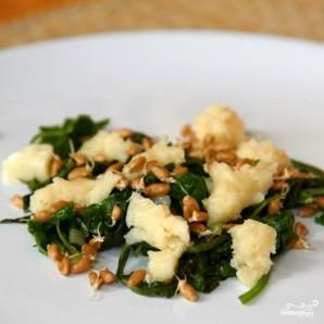 Салат из листьев одуванчика - фото шаг 5