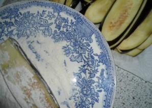 Рулеты из баклажанов с мясом - фото шаг 3