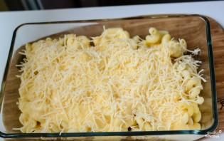 Макаронная запеканка с сыром - фото шаг 7